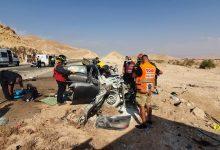 Photo of תאונה קטלנית כביש 90 סמוך לקטורה: גבר בן 40 הרוג ועוד פצועה קשה בהתנגשות רכב עם משאית