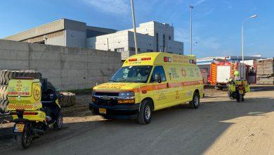 Photo of טרגדיה במפעל מתכות באשדוד: 2 פועלים נהרגו ועוד 4 נפצעו כתוצאה מהתפוצצות מיכל גז