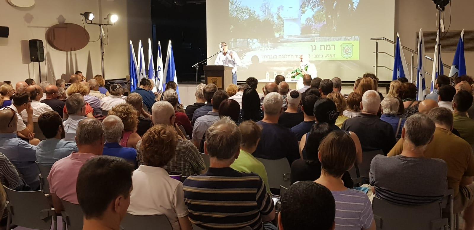 Photo of מפגש שיתוף ציבור לתוכנית המתאר לרמת גן
