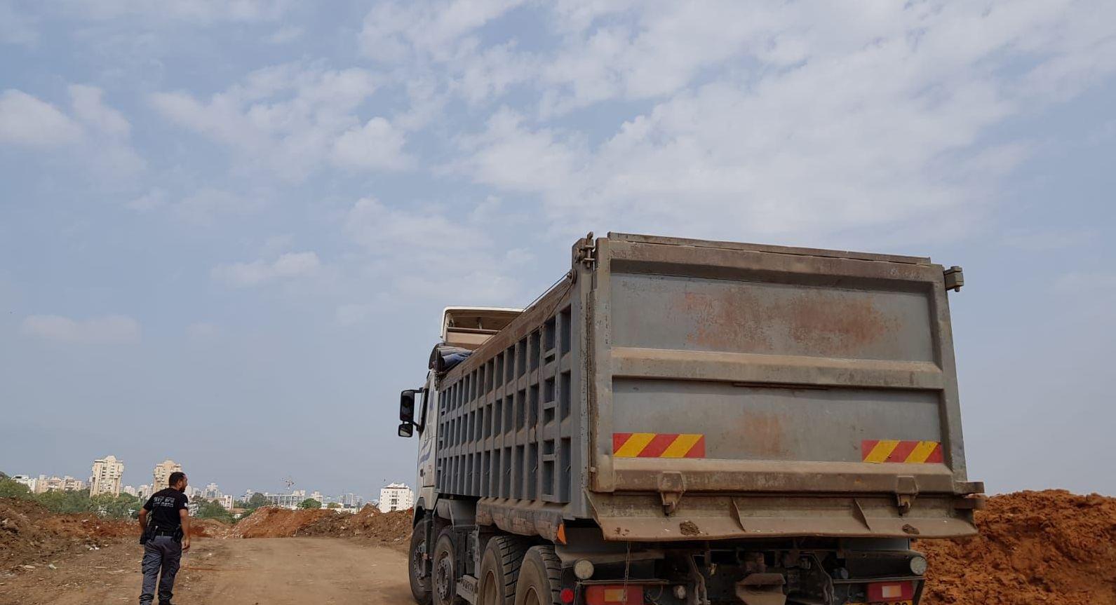 Photo of מבצע פסולת של יחידת השיטור העירוני