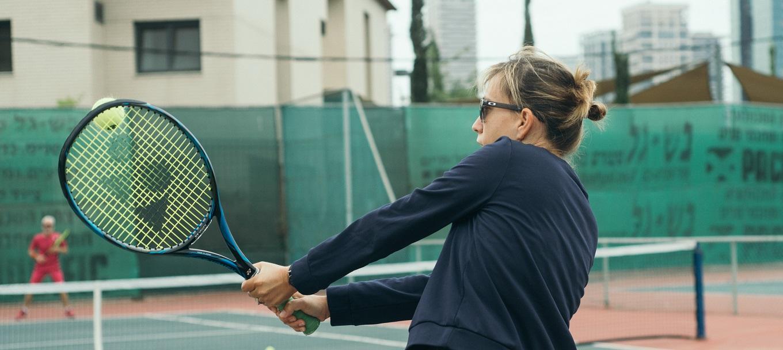 "Photo of ""המתקנים במקום מהווים מסגרת ספורטיבית משלימה לאימוני הטניס שלנו"""