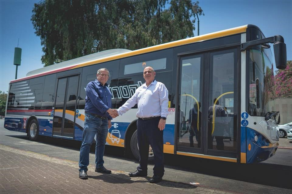 Photo of עתיד ירוק: האוטובוסים החשמליים מגיעים לרמת גן