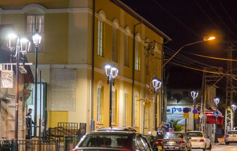 Photo of תאורה חדשה ברחוב חובבי ציון