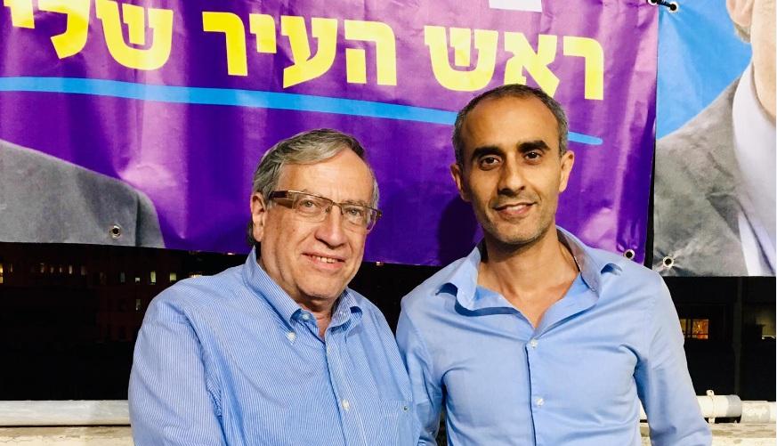 "Photo of אביהוא בן משה וסיעתו ""הרמתגנים עם אביהוא"" מביעים תמיכה בישראל זינגר בסיבוב השני בר""ג"