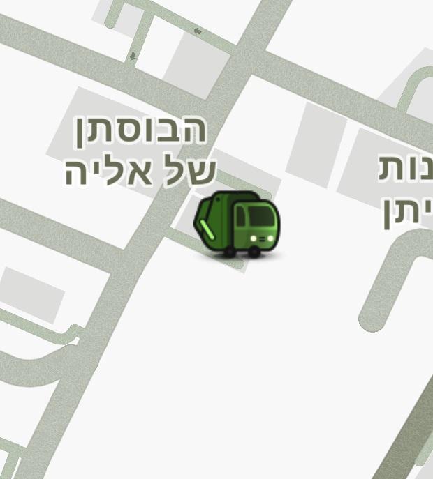 Photo of שים לב: משאית אשפה לפניך