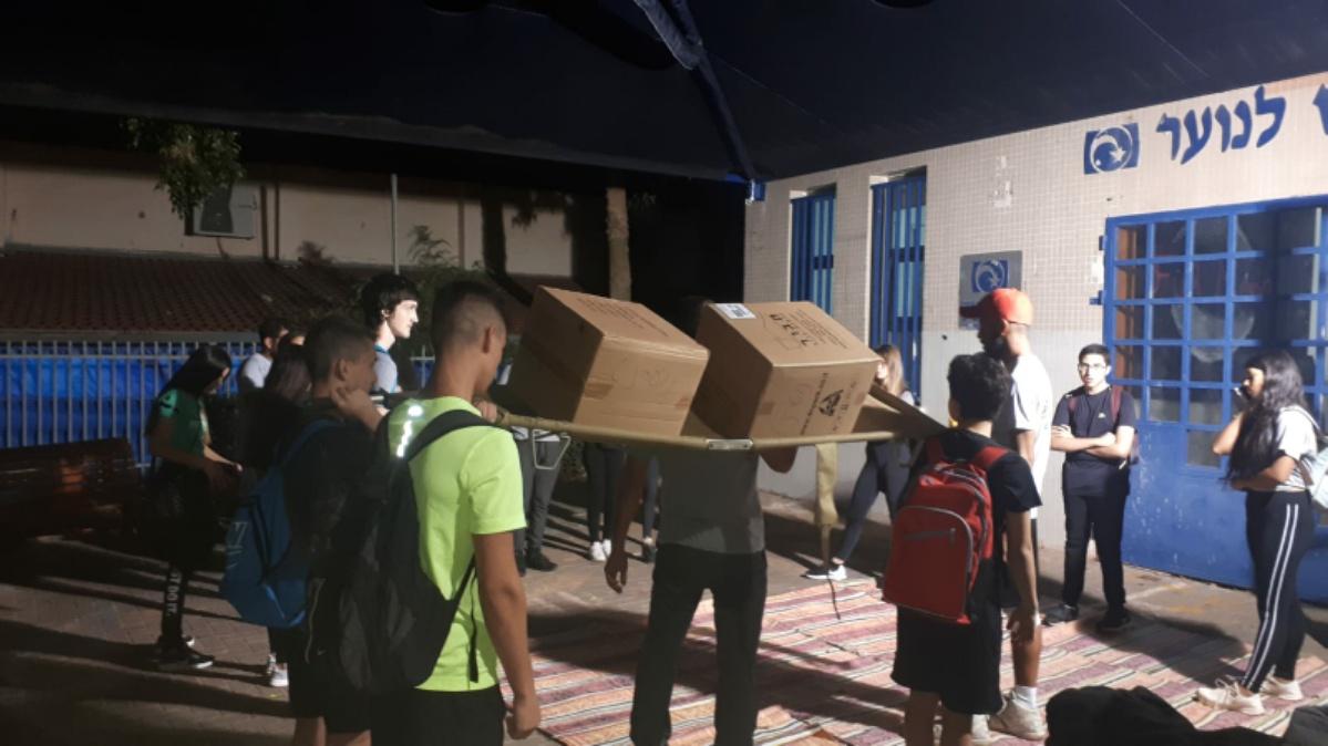 Photo of מסע הכומתה המקדים של בני הנוער מראשון לציון