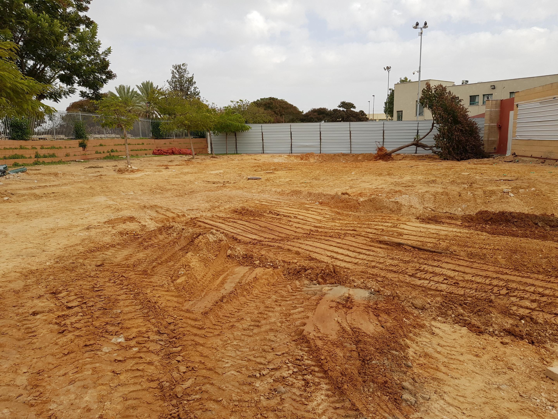 Photo of החלו העבודות להקמת האגף החדש בבית ספר שיזף