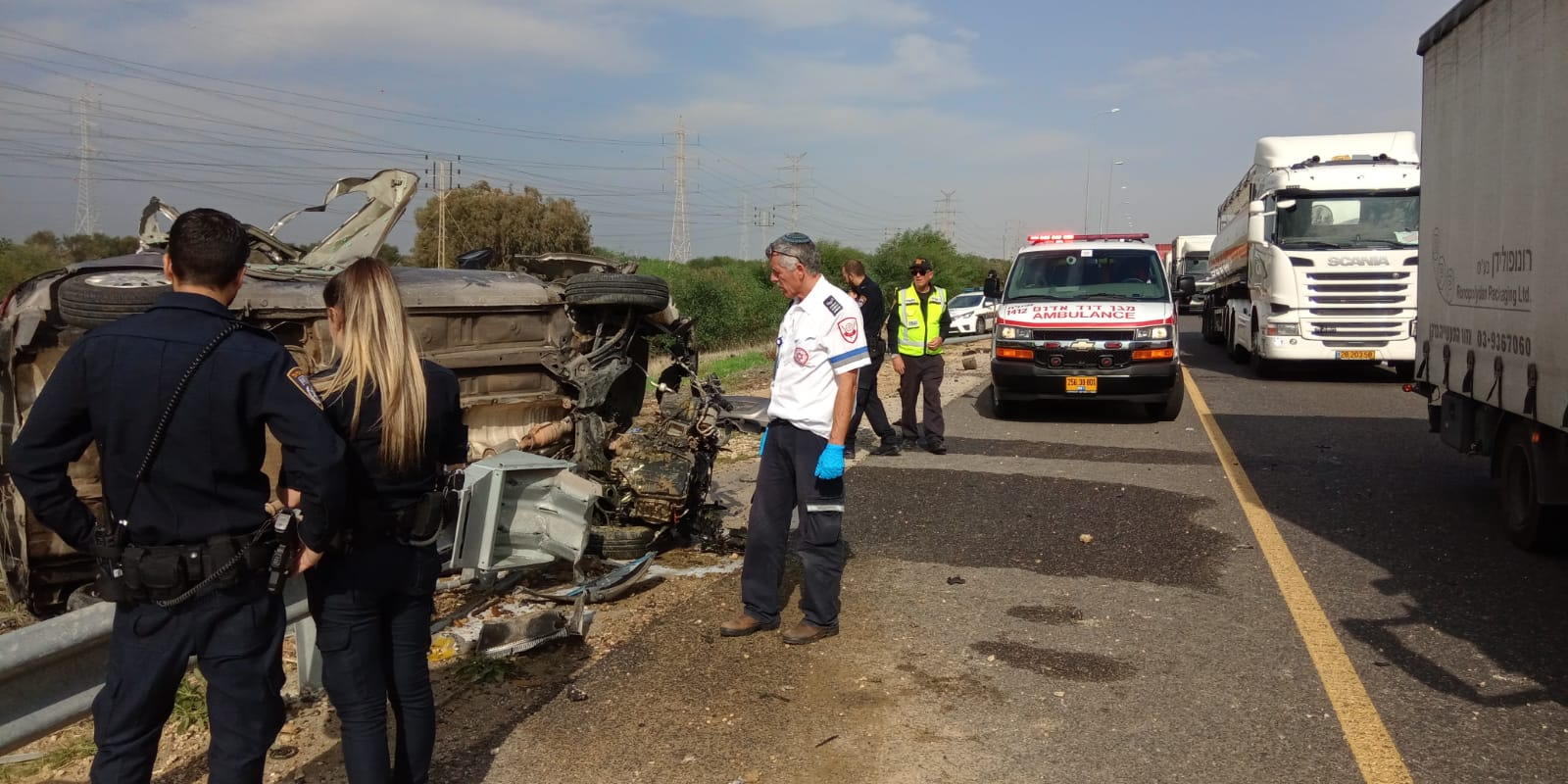 Photo of גבר בן 60 נהרג בתאונת דרכים קשה