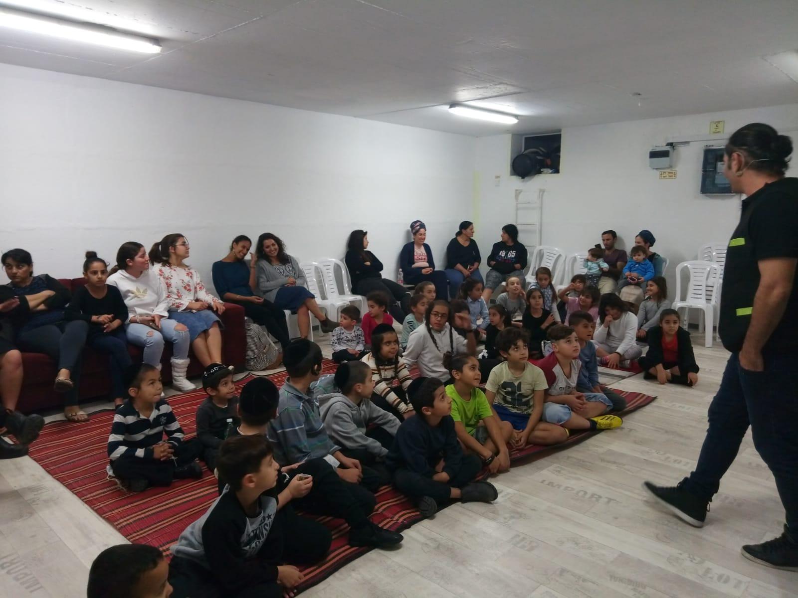 "Photo of נחנך מרכז למידה קהילתי במתחם סחל""ב"