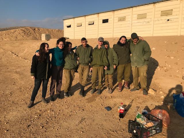 """Photo of תלמידי היל""""ה השתתפו בגדנ""""ע בשדה בוקר"""