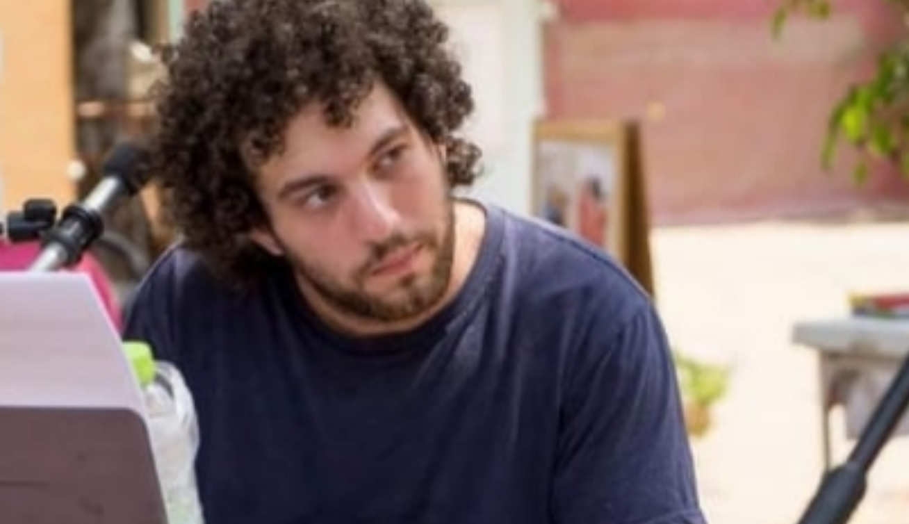המורה לפסנתר, בועז ליובין החשוד במעשים מגונים בתלמידיו. צילום: דוברות המשטרה
