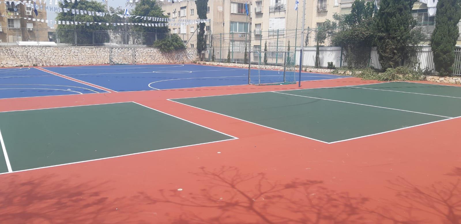 Photo of בשביל התלמידים והתושבים: חודש מגרש הספורט בבית ספר גבעולים ברמת גן