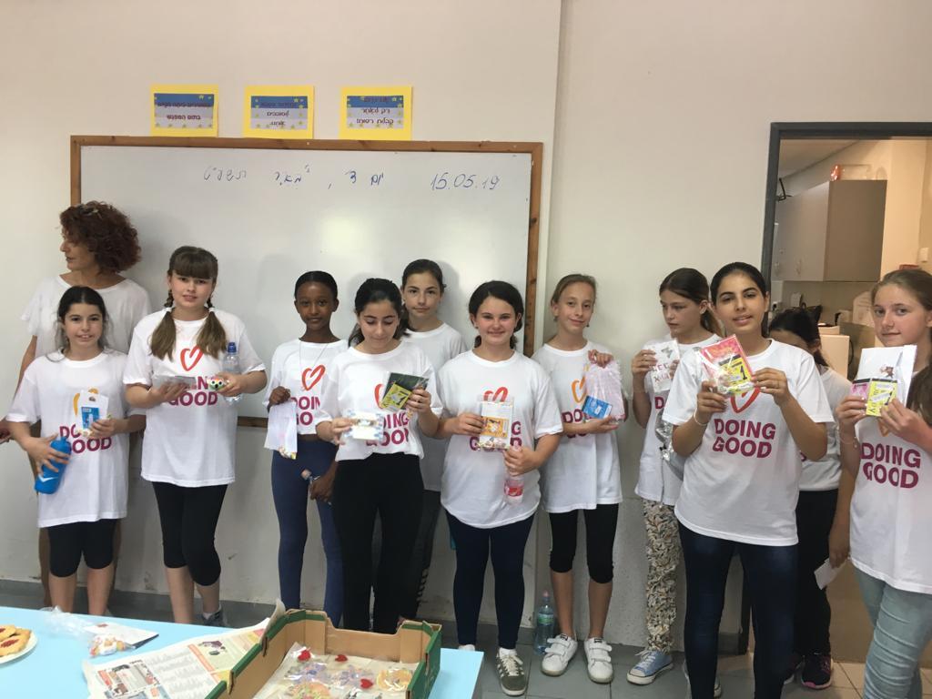 Photo of טוב למען האחר: התלמידים הצעירים בראשון לציון מקיימים פעילות משותפת עם עולים חדשים