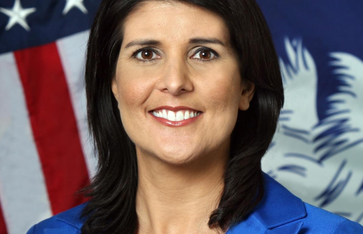 """Photo of יוזמה בר""""ג: לקרוא רחוב או את בית הספר הדיפלומטי החדש על שמה של ניקי היילי, לשעבר שגרירת ארה""""ב באו""""ם"""