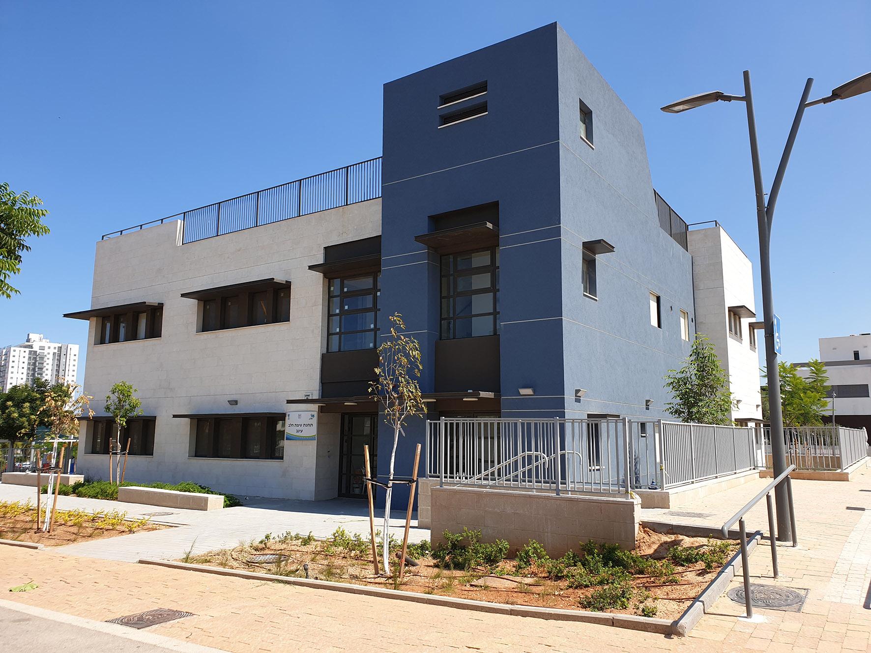 Photo of עיריית ראשון לציון הקימה טיפת חלב ומרפאות בשכונת נחלת יהודה