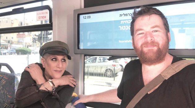 סי והבמאי אסף לביא הראל. צילום נמי כרמי