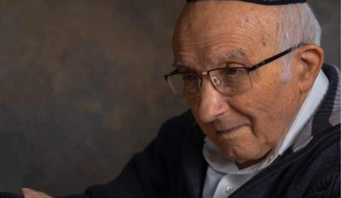 צבי איכנולד בן ה-94. מבין כל המוזמנים לא נמצא לו מקום אחד בודד? צילום: אלבום משפחה