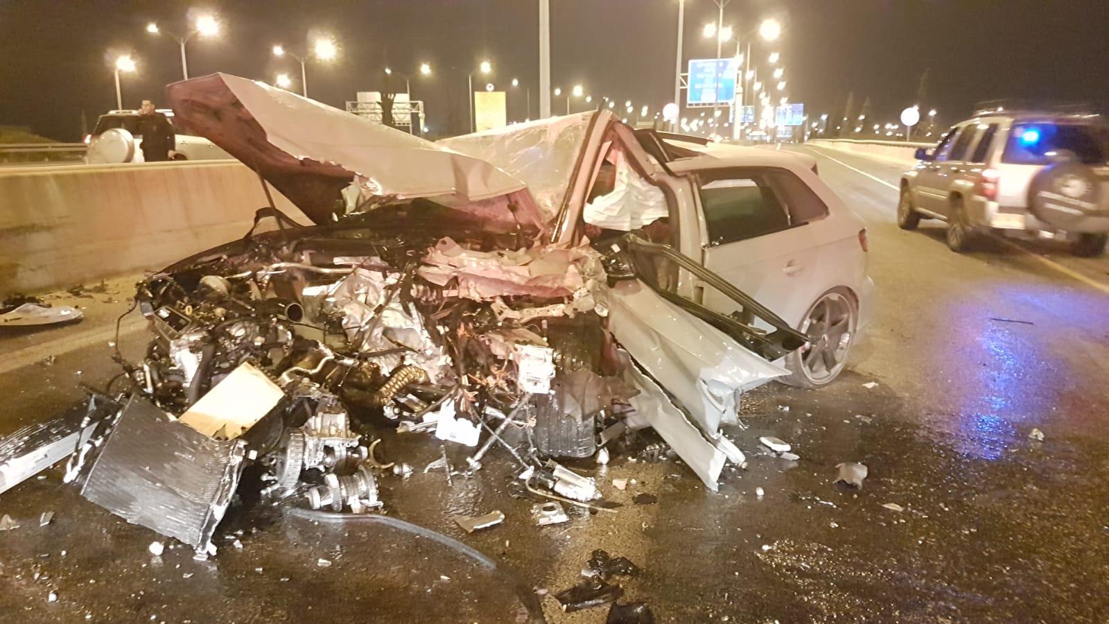 Photo of תאונה קטלנית הלילה במחלף ראשונים: בן 25 נהרג לאחר שאיבד שליטה על רכבו