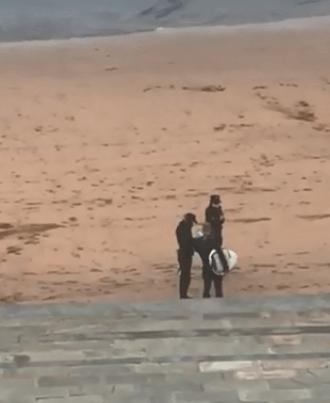 Photo of צפו: פקחים חילקו בסוף השבוע קנסות ברחובות תל אביב ובחופי הים למפרי הבידוד