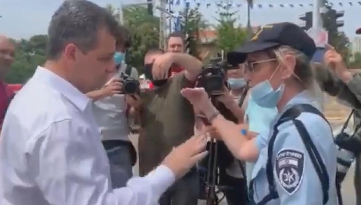 """בעיריית רמת גן: """"היה תירוץ בכדי לשמור ראשוניות בתקשורת למשטרה"""". צילום: רשתות חברתיות"""