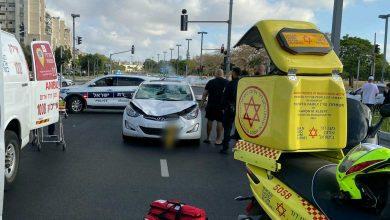 Photo of הולך רגל בן 60 במצב אנוש מפגיעת רכב ברחוב היינה בתל אביב
