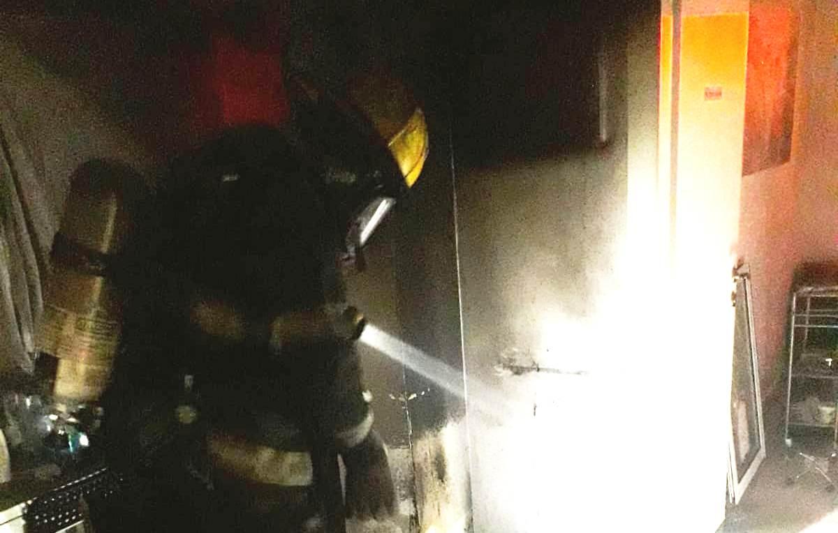 שריפה באשדוד. צילום כיבוי אש
