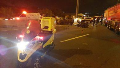 Photo of רוכב אופנוע בן 34 נהרג לאחר שהתנגש ברכב חונה סמוך למחלף ראשונים לכיוון נס ציונה