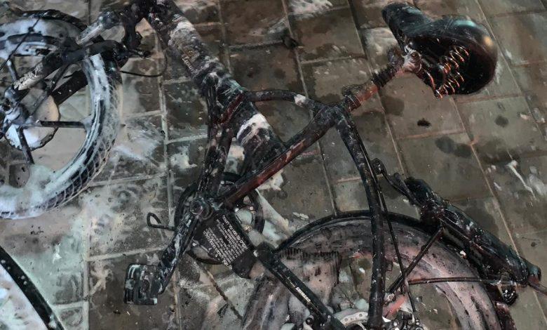Photo of שלושה אירועי שריפה אמש בתל אביב ויפו בגלל התפוצצות סוללת אופניים חשמליים. נזק רב לרכוש