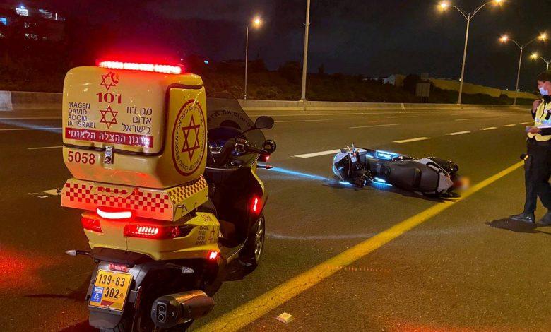 "Photo of בת 12 מפ""ת נהרגה הלילה סמוך למחלף שעריה בכביש 471, לאחר שאופנוע עליו הורכבה איבד שליטה והחליק"