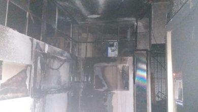 Photo of אם ובנה חולצו הלילה בשריפה שפרצה בבניין מגורים ברחוב בלפור בבת-ים