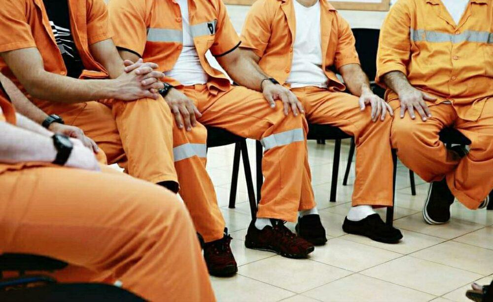 בכלא רימונים מציינים את יום המאבק באלימות נגד נשים. קרדיט צילום : דוברות שב״ס