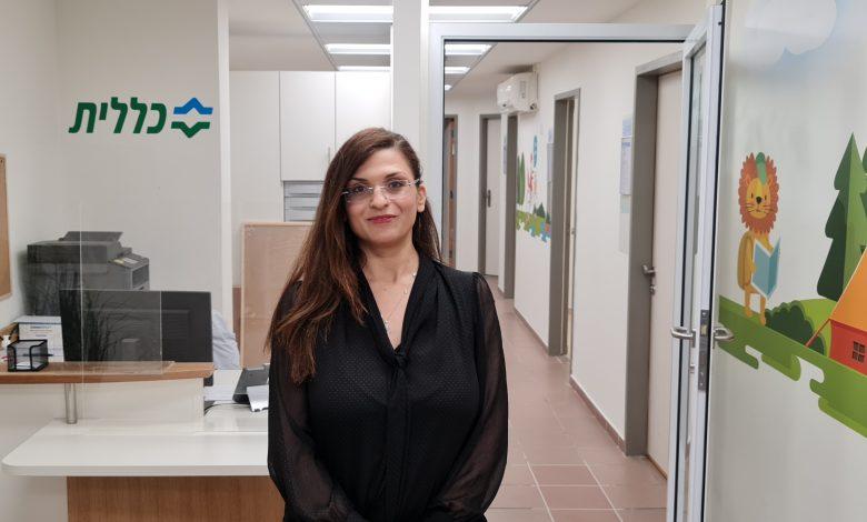 """ליאור ספדי, המנהלת האדמיניסטרטיבית של מערך התפתחות הילד במחוז דן-פ""""ת בכללית. צילום ניוזים"""