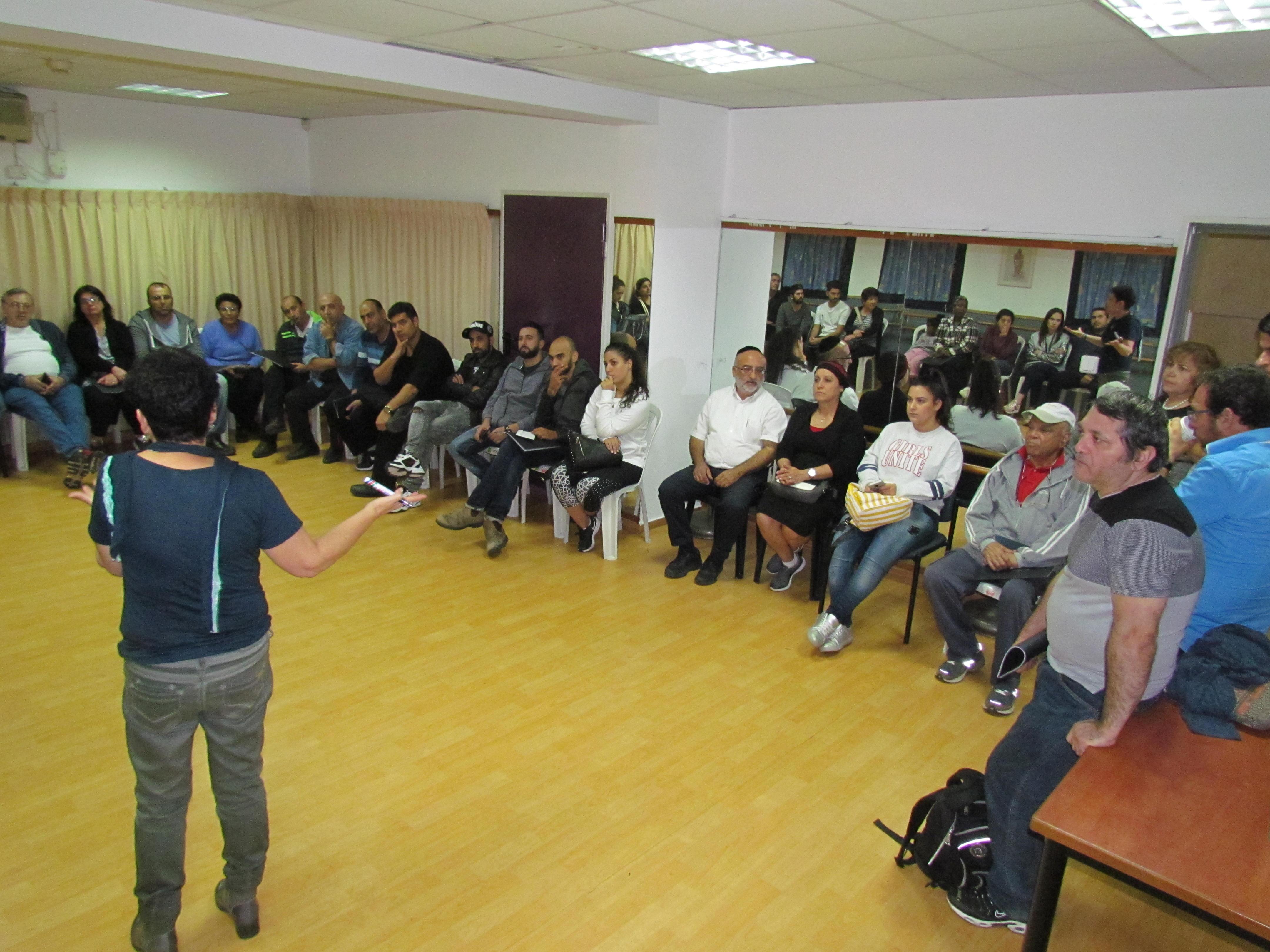 Photo of מפגש שיתוף תושבים בפרויקט מתחם הסביון באור יהודה