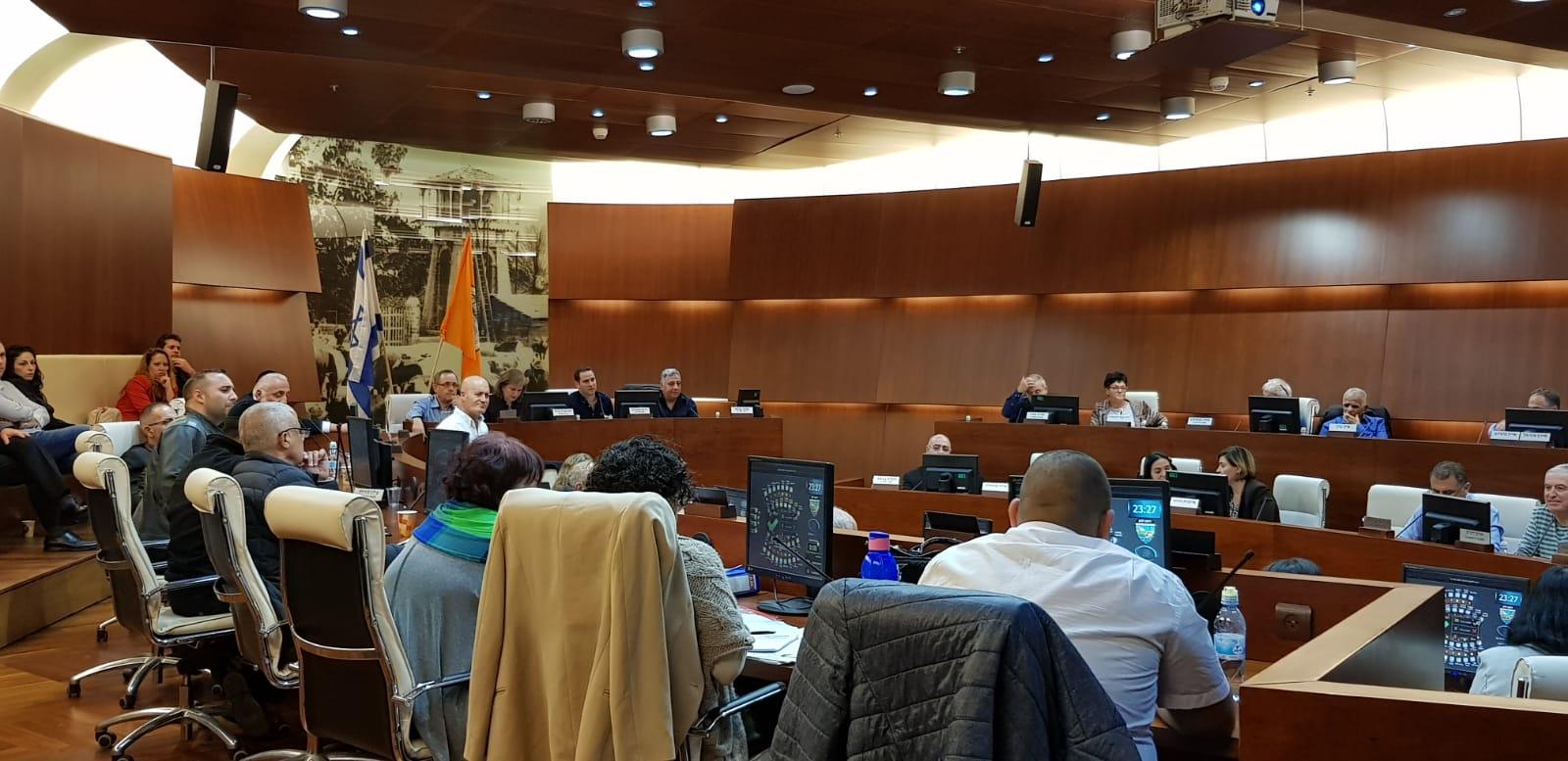"""אושר התקציב ל 2019. עיריית ראשל""""צ. צילום דוברות"""