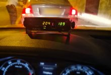 "Photo of נהג בן 36 מירושלים נתפס אמש כשהוא דוהר על כביש 1 במהירות של 204 קמ""ש"