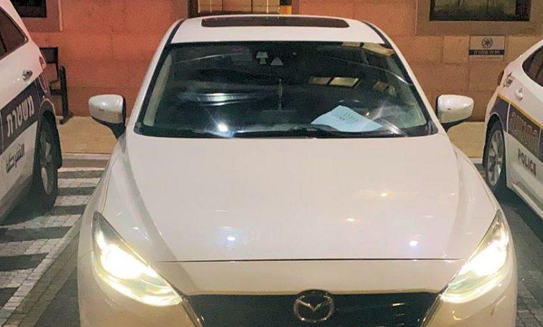 "Photo of בן 19 גנב רכב שחנה במתנ""ס סחלבים במודיעין ונתפס אחרי זמן קצר בגלל המהירות בה דהר"