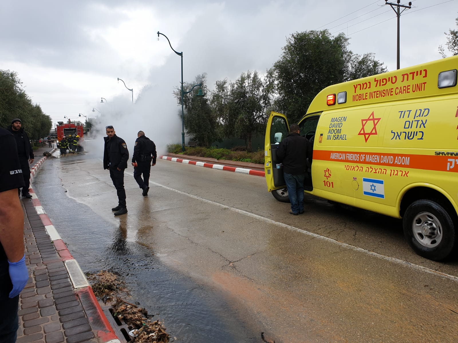 Photo of הסיבה לפיצוץ ברכב בסמוך למושב עזריאל בשרון: מיכל דלק