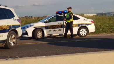 Photo of שתי תאונות קשות בכביש החוף לכיוון צפון. הולך רגל נפטר מפצעיו, והכביש לצפון חסום