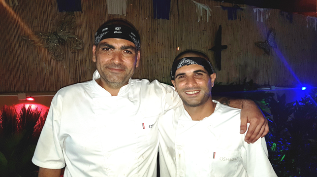 Oshmeat&Mor. אירועי בשר ברמה הגבוהה ביותר. אושרי טוויג ומורן ברזני. צילום הילה כליפה.