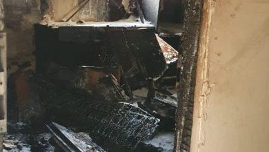Photo of שריפה הבוקר ביצחק שדה בהרצליה. מהבניין פונו דיירים במצב קל ואילו כלב, במצב קשה