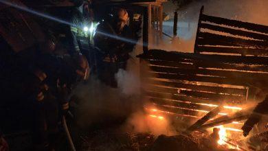Photo of קמין דולק כמעט ושרף בית עד היסוד בחדרה הלילה. כוחות כיבוי הצליחו להשתלט על השריפה, אין נפגעים במקום