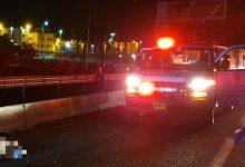 Photo of טרגדיה הלילה בכביש 4 סמוך לכלא הדרים. גבר בן 31 נפגע מרכב חולף, מותו נקבע במקום