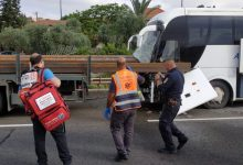 Photo of נהג אוטובוס כבן 40 נהרג הבוקר בכניסה לאום אל פאחם לאחר שהתנגש במשאית