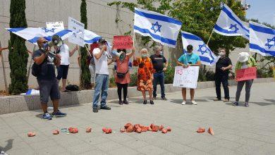 """Photo of צפו: מחאת המשפחות השכולות מול הקריה בתל אביב: """"חיילי ילדנו לא הפקר"""""""