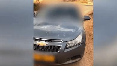 בן עשר נהג באוטו. צילום משטרת ישראל