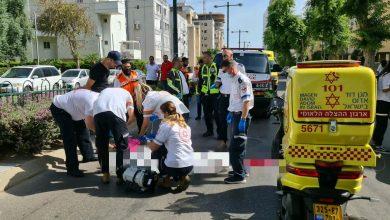 Photo of תאונה קטלנית בנתניה: הולכת רגל בת 60 נהרגה מפגיעת רכב ברחוב פתח תקווה