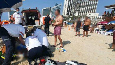 Photo of גבר בן 40 פונה במצב קשה, אחרי החייאה, לאחר שטבע בחוף אכדיה בהרצליה