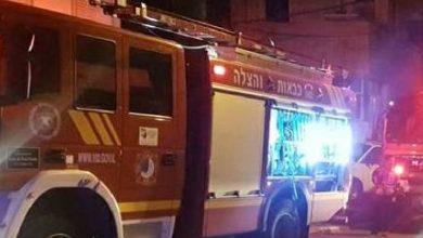 Photo of פיצוץ בדירה בבניין ברחוב יד לבנים בחיפה. ככל הנראה מדליפת גז