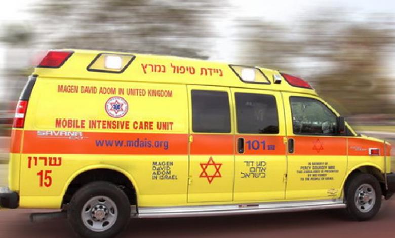 Photo of גבר כבן 30 נפל מקומה 3 בבניין ברחוב יהואש בחיפה. מצבו קשה. הנסיבות לא ידועות