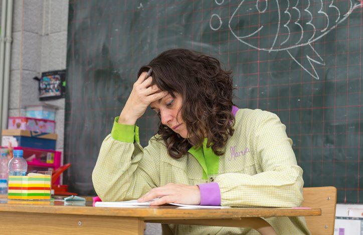 המורה לא מפסיקה לצרוח ולעלוב בילדים. צילום: גטיאימג'ס